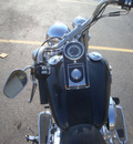 harley davidson flstni 2005 black softail deluxe 2 cylinders 5 speed 45342