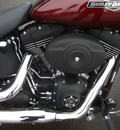 harley davidson fxstb 2008 red night train 2 cylinders 6 speed 45342