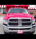 dodge ram 3500 2011 red st gasoline v8 2 wheel drive automatic 44024