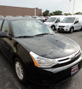 ford focus 2010 black sedan se gasoline 4 cylinders front wheel drive automatic with overdrive 60546