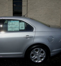 ford fusion 2010 silver sedan se gasoline 4 cylinders front wheel drive automatic with overdrive 60546