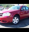 dodge avenger 2010 red sedan sxt gasoline 4 cylinders front wheel drive automatic 44024