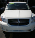 dodge caliber 2010 white hatchback sxt gasoline 4 cylinders front wheel drive automatic 13502