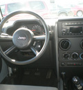 jeep wrangler unlimited 2008 silver suv x gasoline 6 cylinders 4 wheel drive 6 speed manual 13502