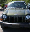 jeep liberty 2007 green suv sport gasoline 6 cylinders 4 wheel drive automatic with overdrive 13502