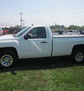 chevrolet silverado 1500 2009 white work truck 4x4 gasoline 8 cylinders 4 wheel drive automatic 62863