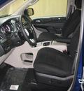 dodge grand caravan 2011 deep water blue van crew flex fuel 6 cylinders front wheel drive automatic 44883
