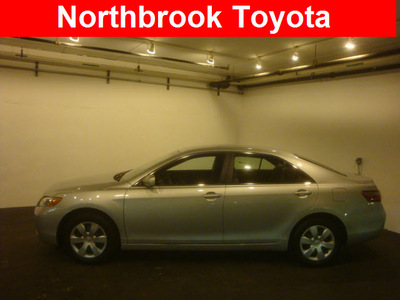 toyota camry 2007 silver sedan ce gasoline 4 cylinders front wheel drive automatic 60062