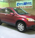 honda cr v 2009 red suv ex l gasoline 4 cylinders all whee drive automatic 44883