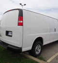 chevrolet express cargo 2011 white van 3500 flex fuel 8 cylinders rear wheel drive automatic 60007