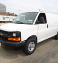 chevrolet express cargo 2011 white van 2500 flex fuel 8 cylinders rear wheel drive automatic 60007