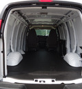 chevrolet express cargo 2011 white van 2500 flex fuel 8 cylinders rear wheel drive automatic 60007