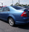 ford fusion 2010 blue sedan sel flex fuel 6 cylinders front wheel drive automatic 32401