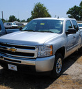 chevrolet silverado 1500 2011 silver ls flex fuel 8 cylinders 2 wheel drive automatic 27591