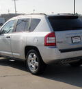 jeep compass 2007 silver suv limited gasoline 4 cylinders front wheel drive automatic 62034