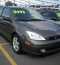 ford focus 2002 gray hatchback zx3 gasoline 4 cylinders front wheel drive automatic with overdrive 13502