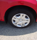 nissan versa 2010 red hatchback gasoline 4 cylinders front wheel drive automatic 45324