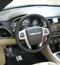 chrysler 200 convertible 2011 white limited flex fuel 6 cylinders front wheel drive automatic 44883