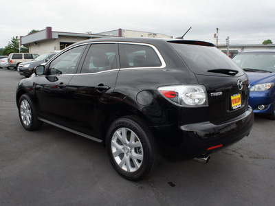 mazda cx 7 2009 black suv gasoline 4 cylinders automatic 98371