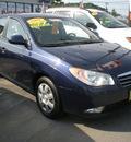 hyundai elantra 2008 blue sedan gasoline 4 cylinders front wheel drive automatic 13502