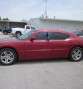 dodge charger 2006 red sedan rt gasoline 8 cylinders rear wheel drive autostick 62863