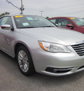 chrysler 200 convertible 2011 silver limited flex fuel 6 cylinders front wheel drive automatic 62863