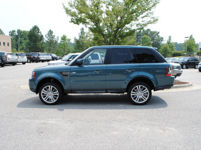 land rover range rover sport 2010 marmaris teal suv hse gasoline 8 cylinders 4 wheel drive shiftable automatic 27511