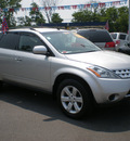 nissan murano 2007 silver suv gasoline 6 cylinders all whee drive automatic 13502