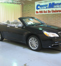 chrysler 200 convertible 2011 black limited flex fuel 6 cylinders front wheel drive automatic 44883