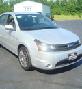 ford focus 2010 silver sedan ses gasoline 4 cylinders front wheel drive automatic 45344