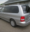 kia sedona 2003 silver van lx gasoline 6 cylinders dohc front wheel drive automatic 55016
