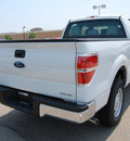 ford f 150 2011 white pickup truck xl flex fuel 6 cylinders 2 wheel drive 6 speed automatic 46168