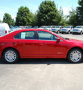 ford fusion hybrid 2011 red sedan hybrid 4 cylinders front wheel drive cont  variable trans  46168