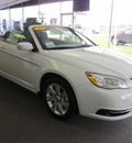 chrysler 200 2011 white touring flex fuel 6 cylinders front wheel drive automatic 62863