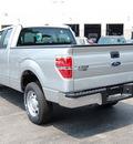 ford f 150 2011 silver pickup truck xl flex fuel 6 cylinders 2 wheel drive 6 speed automatic 46168