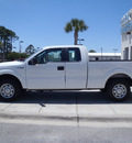 ford f 150 2011 white xl flex fuel 6 cylinders 2 wheel drive automatic 32401