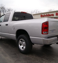 dodge ram 1500 2003 silver pickup truck 4x4 slt gasoline 8 cylinders 4 wheel drive automatic with overdrive 61008