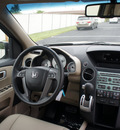 honda pilot 2011 brown suv ex l w dvd gasoline 6 cylinders 4 wheel drive 5 speed automatic 47129