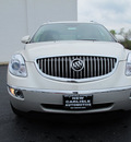 buick enclave 2009 white diamond suv cxl gasoline 6 cylinders front wheel drive 6 speed automatic 45344