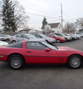 chevrolet corvette 1986 red coupe gasoline v8 rear wheel drive automatic 45324