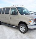 ford econoline wagon 2011 gold van flex fuel 8 cylinders rear wheel drive 4 speed automatic 46168