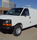 chevrolet express cargo 2011 white van 3500 flex fuel 8 cylinders 2 wheel drive automatic 60007
