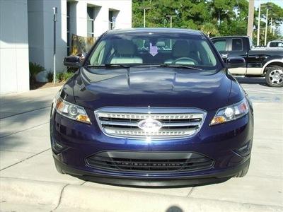 ford taurus 2011 blue sedan sel gasoline 6 cylinders front wheel drive automatic 32401