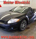 mitsubishi eclipse spyder 2011 black gt gasoline 6 cylinders front wheel drive automatic 44060