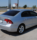 honda civic 2009 silver sedan gasoline 4 cylinders front wheel drive automatic 76087