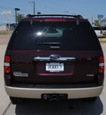 ford explorer 2007 red suv eddie bauer gasoline 8 cylinders rear wheel drive automatic with overdrive 76087