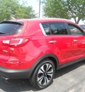kia sportage 2011 dk  red suv sx gasoline 4 cylinders front wheel drive 6 speed automatic 43228