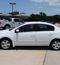 nissan sentra 2007 white sedan 2 0 s gasoline 4 cylinders front wheel drive automatic with overdrive 76087
