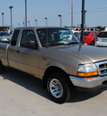 ford ranger 1999 gold xlt flex fuel v6 rear wheel drive automatic with overdrive 76087