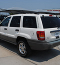 jeep grand cherokee 2000 white suv laredo gasoline 6 cylinders rear wheel drive automatic with overdrive 76087